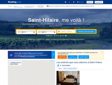 2 Hôtels à Saint-Hilaire - Profitez de nos offres spéciales!