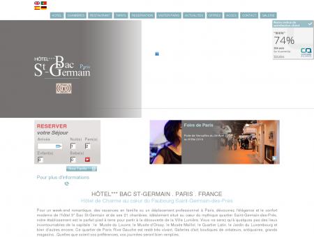 Hotel 3 etoiles Rive Gauche a Saint-Germain...