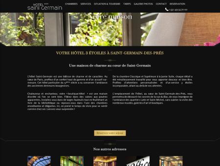 Hôtel 3 étoiles Saint Germain des Prés | Paris...