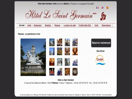 Hôtel Saint Germain à Pézenas dans l'Hérault,...