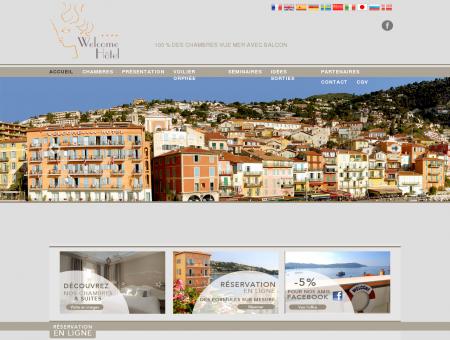Hotel **** Villefranche sur Mer - Bord de mer...