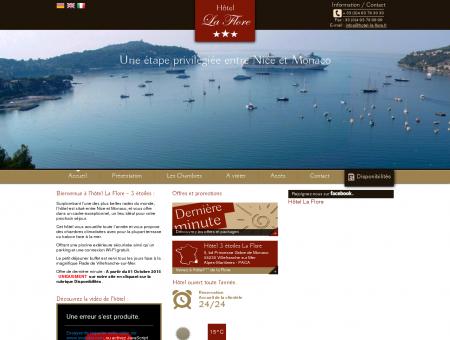 Hôtel Villefranche sur mer LA FLORE ***...