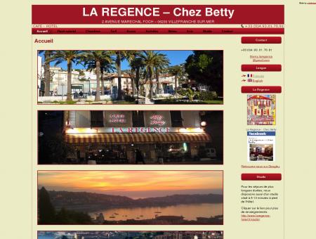 La Regence - Chez Betty, hotel Villefranche-sur...