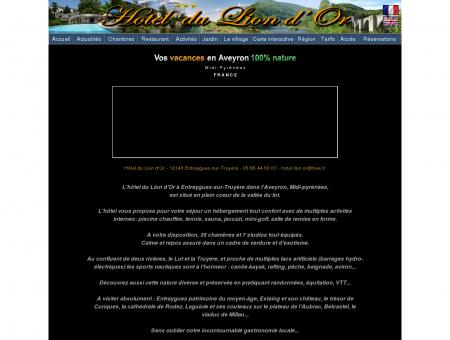 Aveyron - Hotel du Lion d'Or à Entraygues sur...