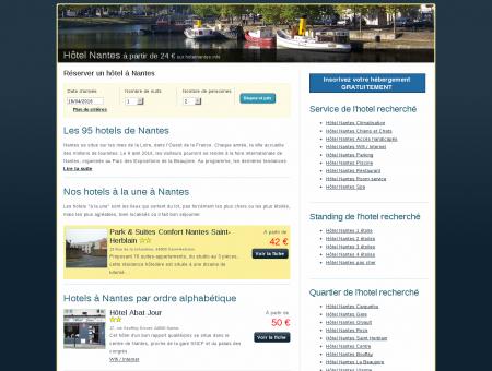 Hôtel Nantes à partir de 24 euros sur...