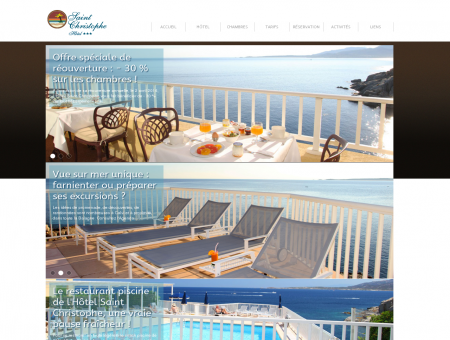 Hôtel 3 étoiles avec piscine et vue sur mer Calvi...