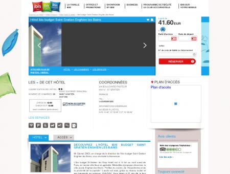 Hotel pas cher ST GRATIEN - ibis budget Saint...