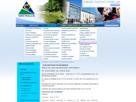 Les services municipaux - Accueil - Ville de...