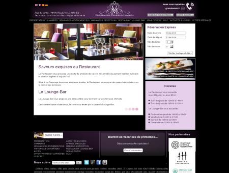Hôtel luxe Ile de France - Restaurant - Château...