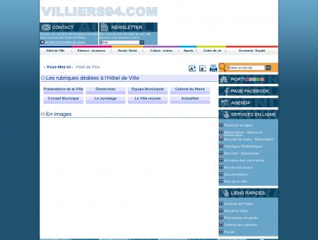 Ville de Villiers-sur-Marne - Hôtel de Ville