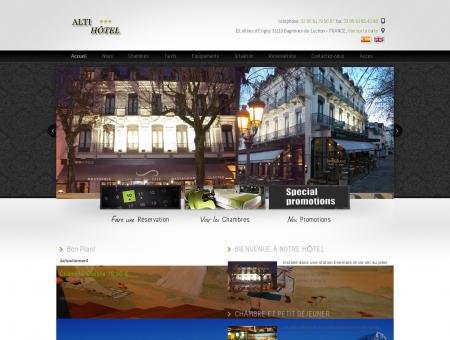 Hotel Alti Luchon | Votre Hôtel au pied des...