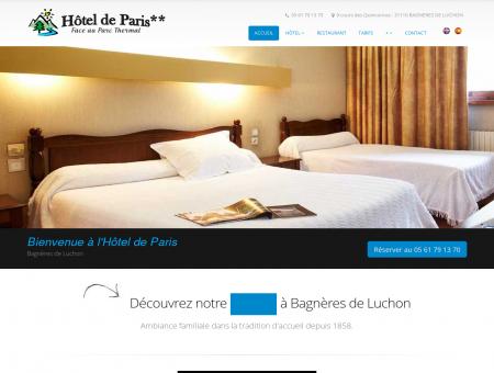 Hôtel de Paris - Votre hôtel / restaurant à...