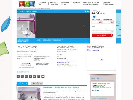 Hotel pas cher SENLIS - ibis budget Senlis