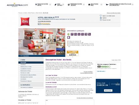 Hôtel à SENLIS - ibis Senlis - Accor Hotels -...