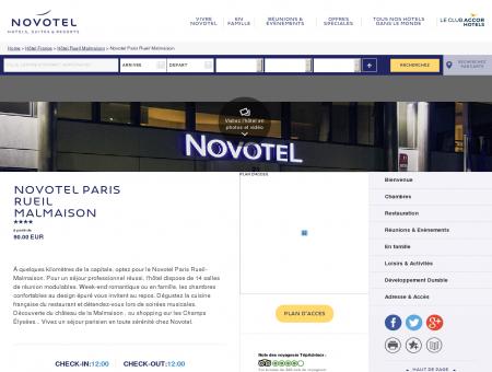 Hotel RUEIL MALMAISON - Novotel Paris...