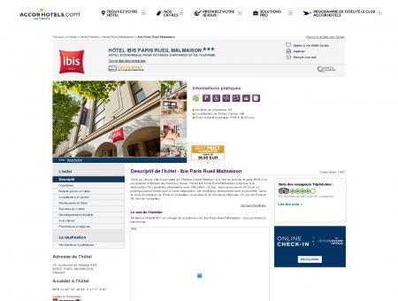Hôtel à RUEIL MALMAISON - ibis Paris Rueil...