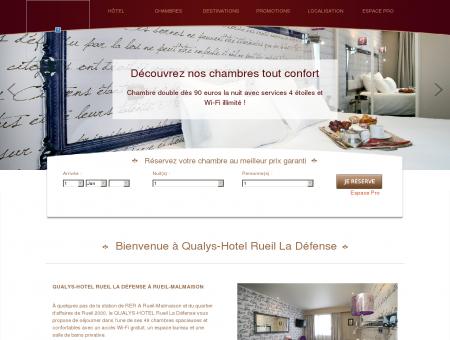 QUALYS-HOTEL Rueil La Défense | Hôtel 4...