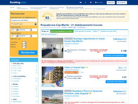 30 hôtels à Roquebrune-Cap-Martin -...