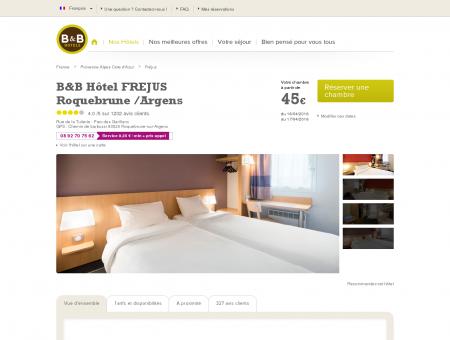 B&B-Hôtel pas cher Fréjus Roquebrune-sur...