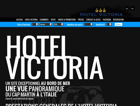 Hôtel Victoria Roquebrune Cap Martin Hôtel...