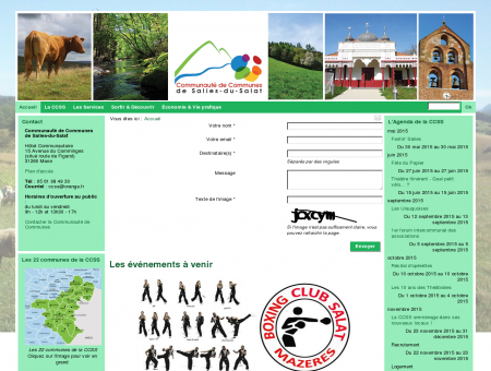 Accueil - communauté de communes Salies du...