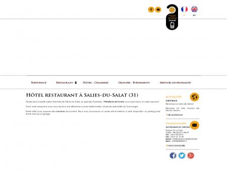 Hôtel-restaurant  Salies-du-Salat | Hôtellerie...