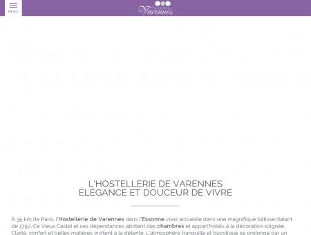 Hostellerie de Varennes à Varennes Jarcy -...