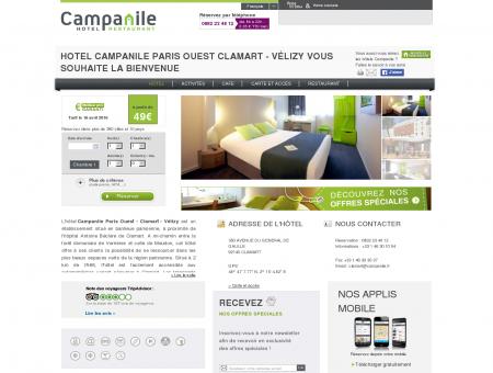 HOTEL CAMPANILE PARIS OUEST CLAMART -...
