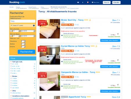 5 Hôtels à Torcy - Hotel Torcy