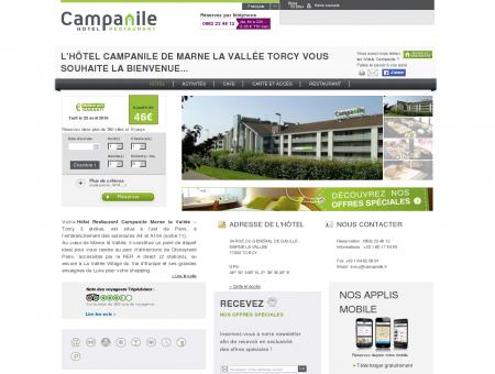 Hôtel CAMPANILE MLV - TORCY - Hôtel à Torcy