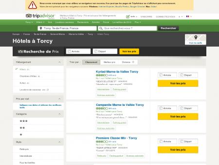 Les 5 meilleurs hôtels à Torcy sur TripAdvisor -...