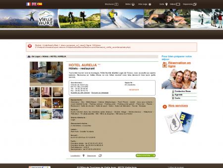 HOTEL AURELIA   Office de Tourisme de Vielle...