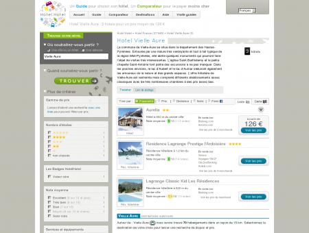 Hotel Vielle Aure : 3 hotels pour un prix...