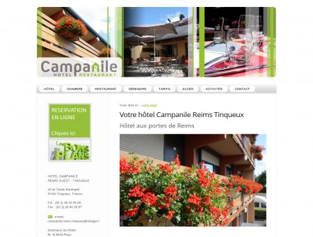 Votre hôtel - Hôtel Campanile Reims Tinqueux