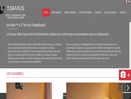 HOTEL RESTAURANT Chatellerault proche...