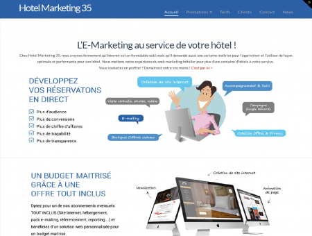 Hotel Marketing 35. Solution web TOUT...