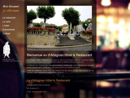 Hôtel Restaurant Le d'Artagnan à Vic-Fezensac