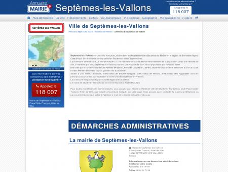 Ville de Septèmes-les-Vallons, la Mairie de...