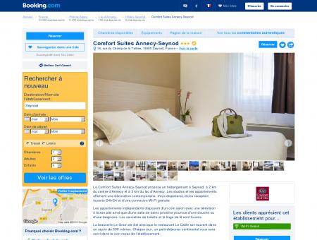 Booking.com: Hôtel Comfort Suites Annecy...