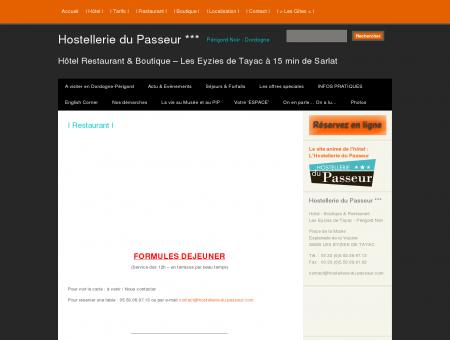 I Restaurant I | Hostellerie du Passeur*** -...