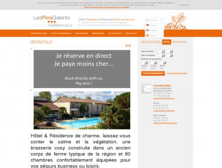 Résidence Hôtelière Les Pins Galants