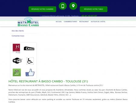 hôtel restaurant, hôtel économique - Toulouse |...
