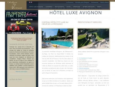 Hôtel Luxe Avignon | Château Hotel Avignon |...