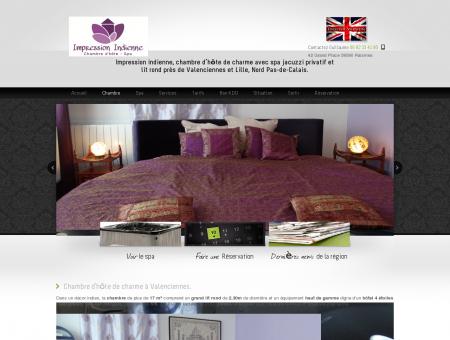Chambre d'hôte de charme ou hôtel avec spa...