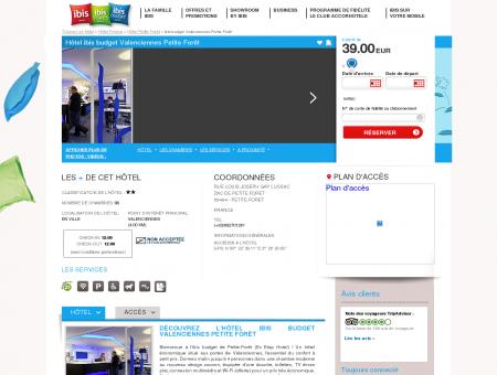 Hotel pas cher PETITE FORET - ibis budget...