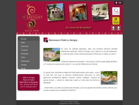 Hôtel Le Savigny en Beaujolais