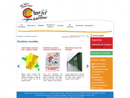 Ville de Portet-sur-Garonne - Dernières nouvelles