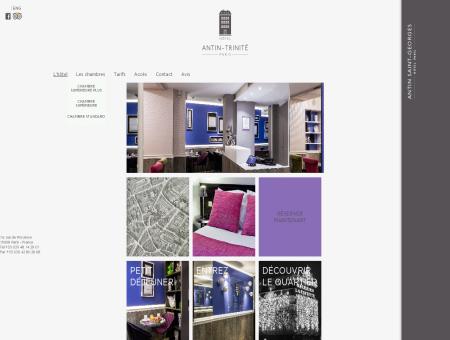 Hôtel Antin Trinité Paris - Site Officiel