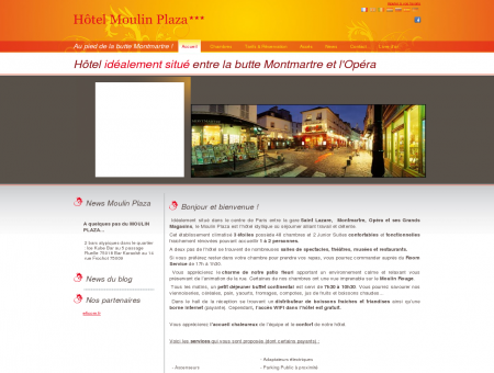 Le Moulin Plaza*** - Hotel 3 etoiles Paris - 3...