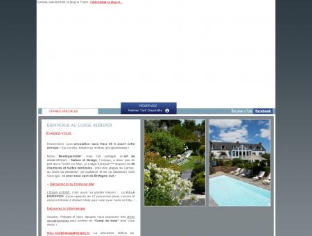 Lodge Kerisper | Boutique Hotel La Trinité-sur...